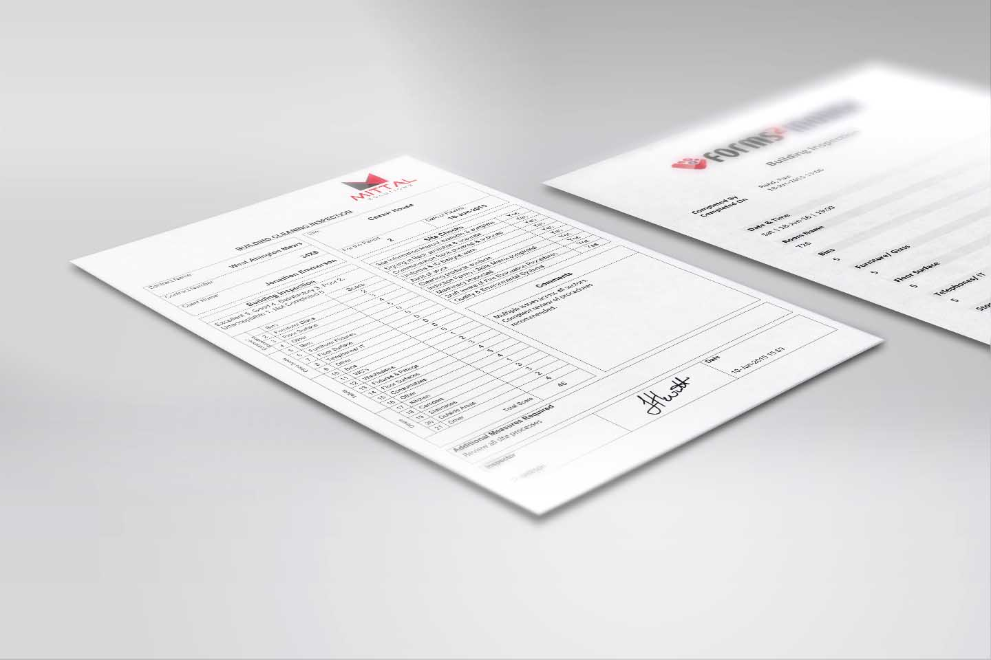 Professional business reports and documents - Customised using Data Templates