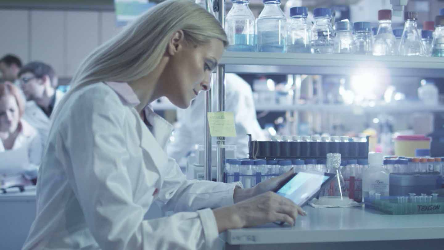 mobile forms used in pharmaceuticals - video still