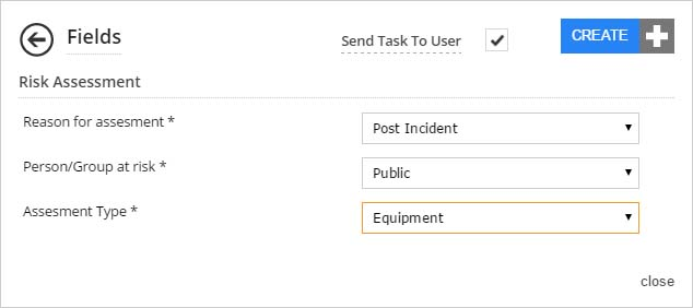 use the task template wizard to predefine fields within a task on forms2mobile