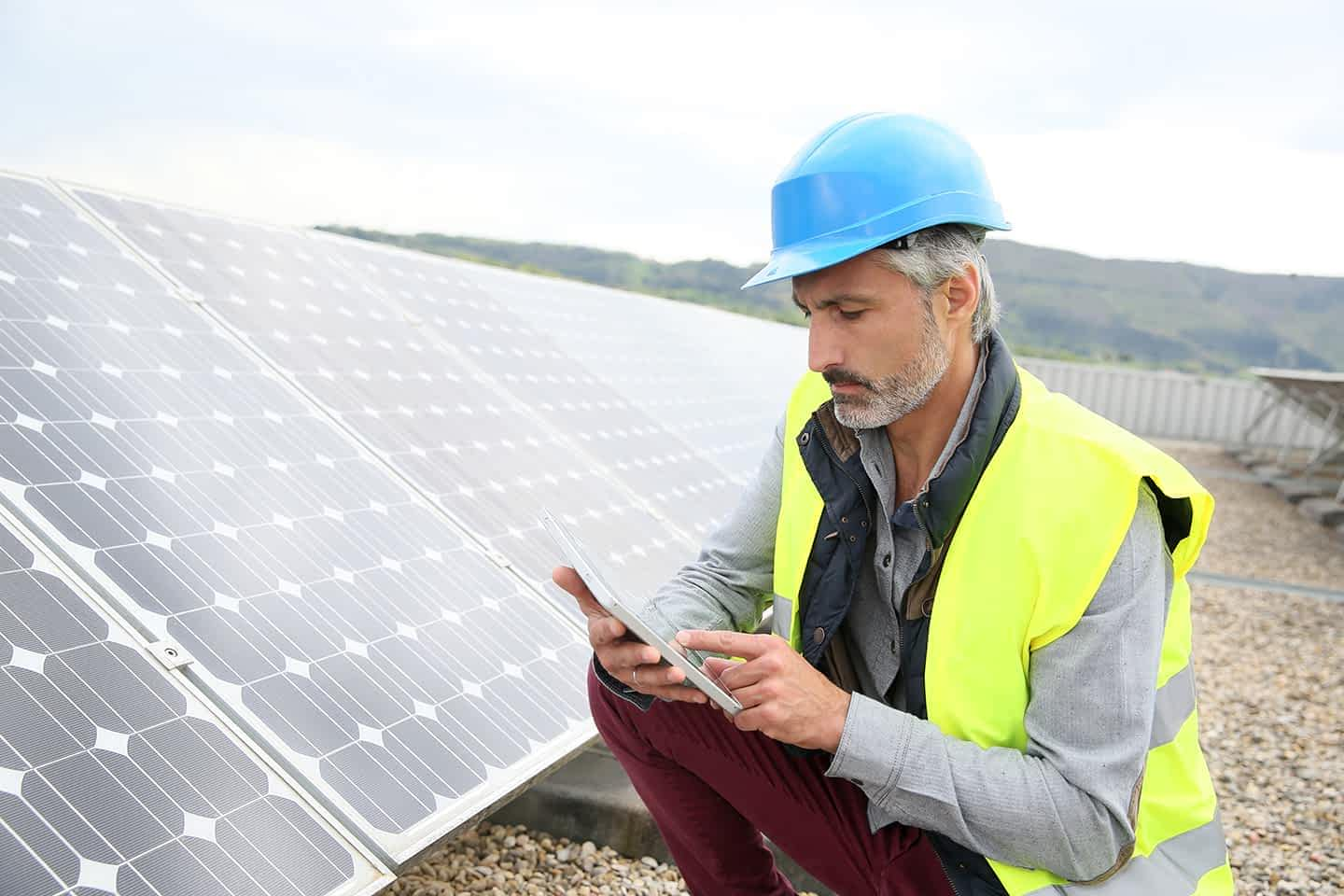 Solar Panel checks with forms 2 mobile